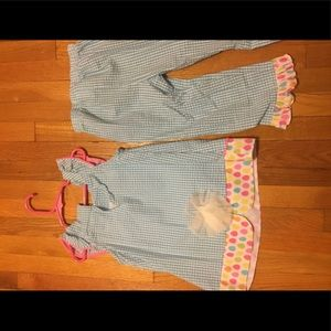 Rare Editions Matching Sets - Girls adorable  bunny outfit